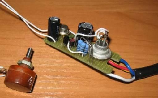 Управление симисторами в схемах на микроконтроллере 915