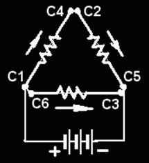 Проверка статора при соеденение треугольник