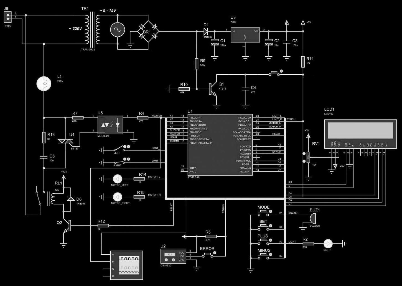 Схема програмируемого инкубатора своими руками