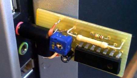 Простой термометр для компьютера работающий через микрофонный вход