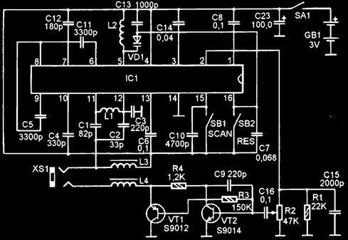 Схема китайского радиоприемника