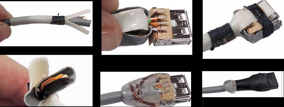 Крепим USB розетку