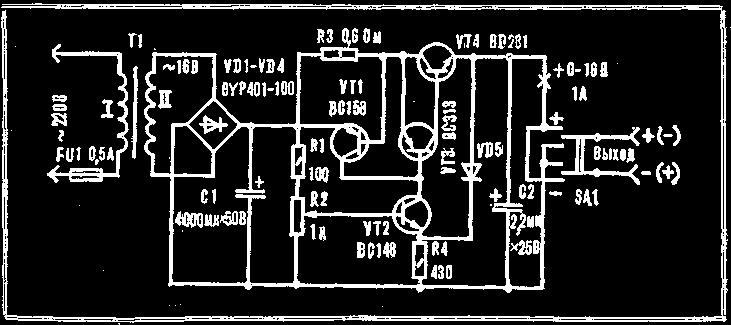 Электростанция для игрушек схема