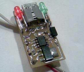 ЗУ от USB