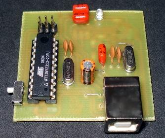 Самодельный программатор AVR