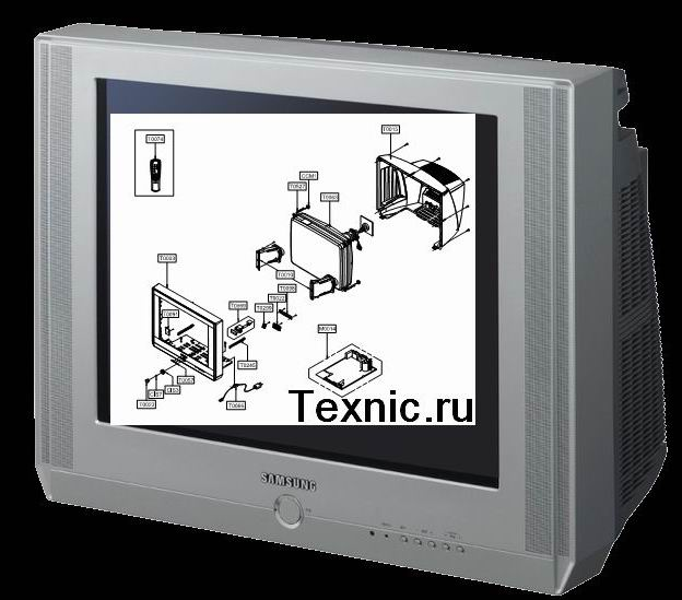 Схемы, service manuals на телевизоры Samsung CS25M20 CS29K10 CW29M064 можете скачать отсюда.