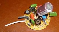 Ремонт энергосберегающих ламп перегорела электронная схема